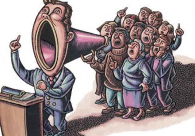 LA DEMOCRACIA EXIGE UN PRECIO MUY ALTO EN EDUCACION Y EN EL RESPETO A LOS D.H.