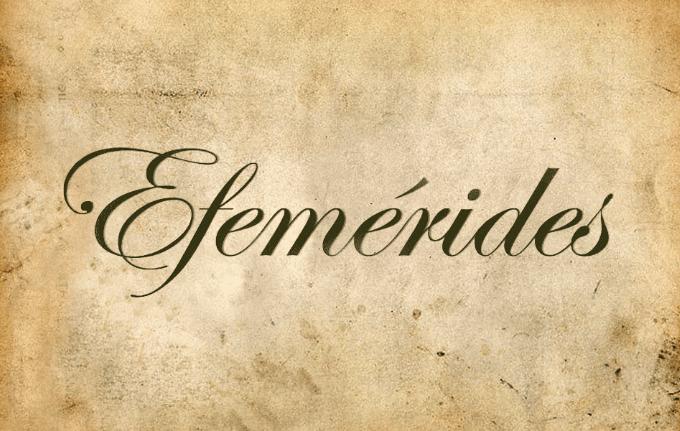 MARTES DE EFEM�RIDES