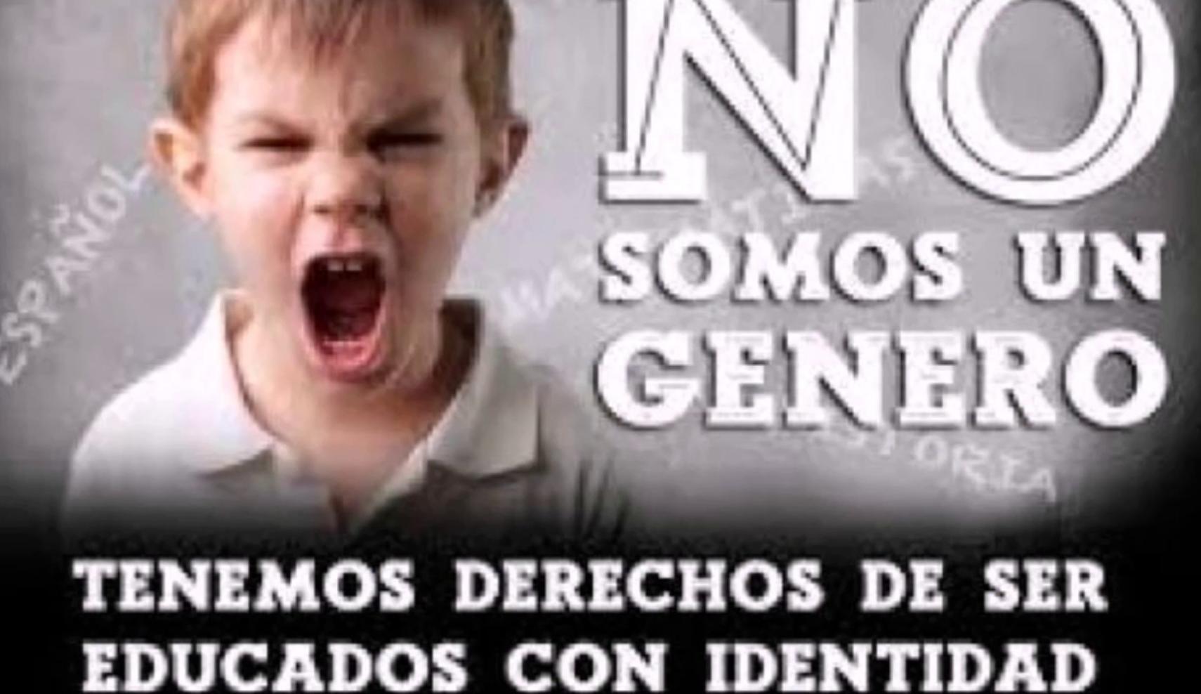 LA IDEOLOGÍA DE GENERO HACE DAÑO A LOS NIÑOS