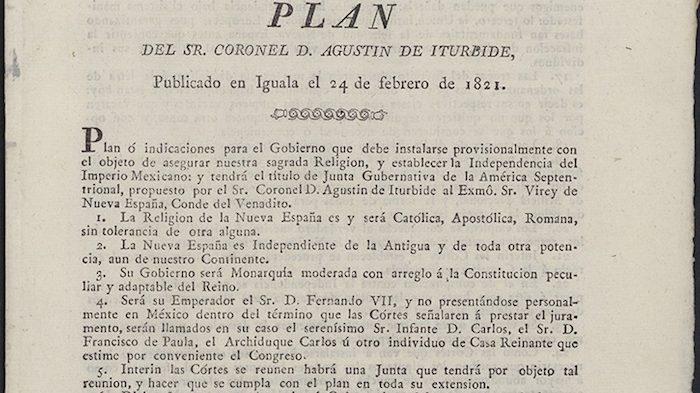 13 DE AGOSTO DE 1521 A 28 DE SEPTIEMBRE DE 1821