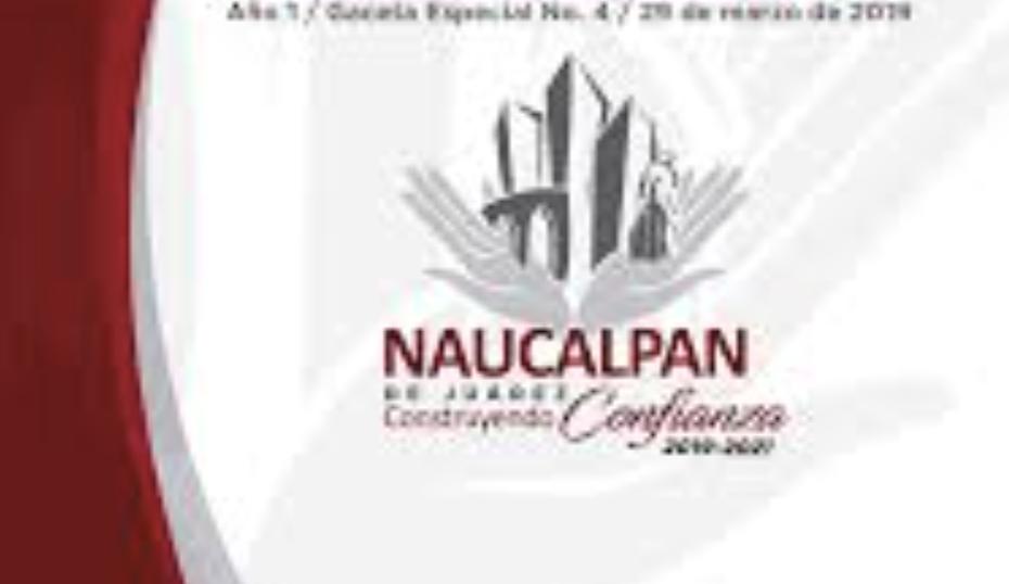GOBIERNO ACTUAL DEL MUNICIPIO NAUCALPAN DA PROMESA Y NO LA CUMPLE
