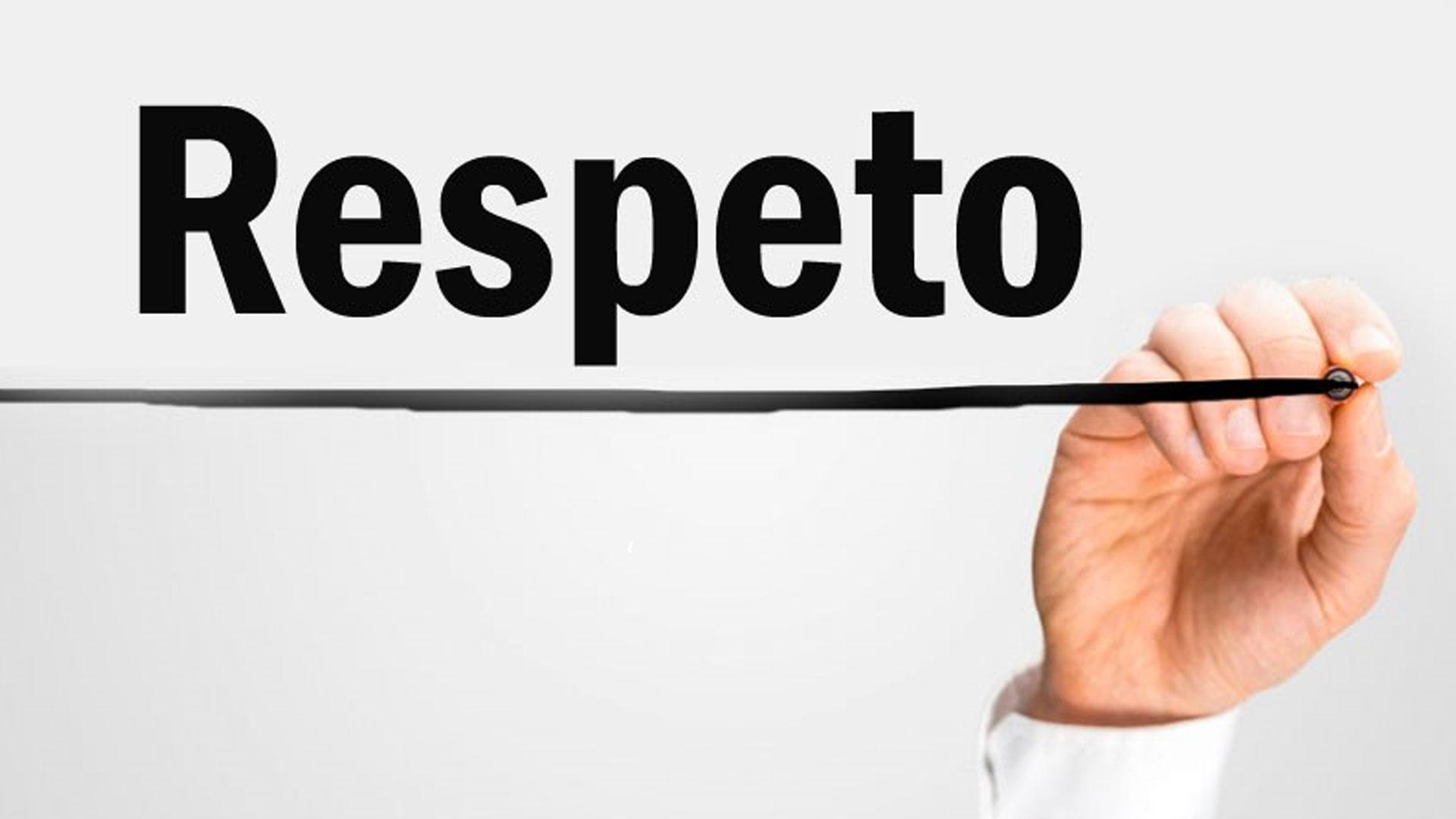 EN DECADENCIA EL RESPETO A LA PERSONA COMO TAL